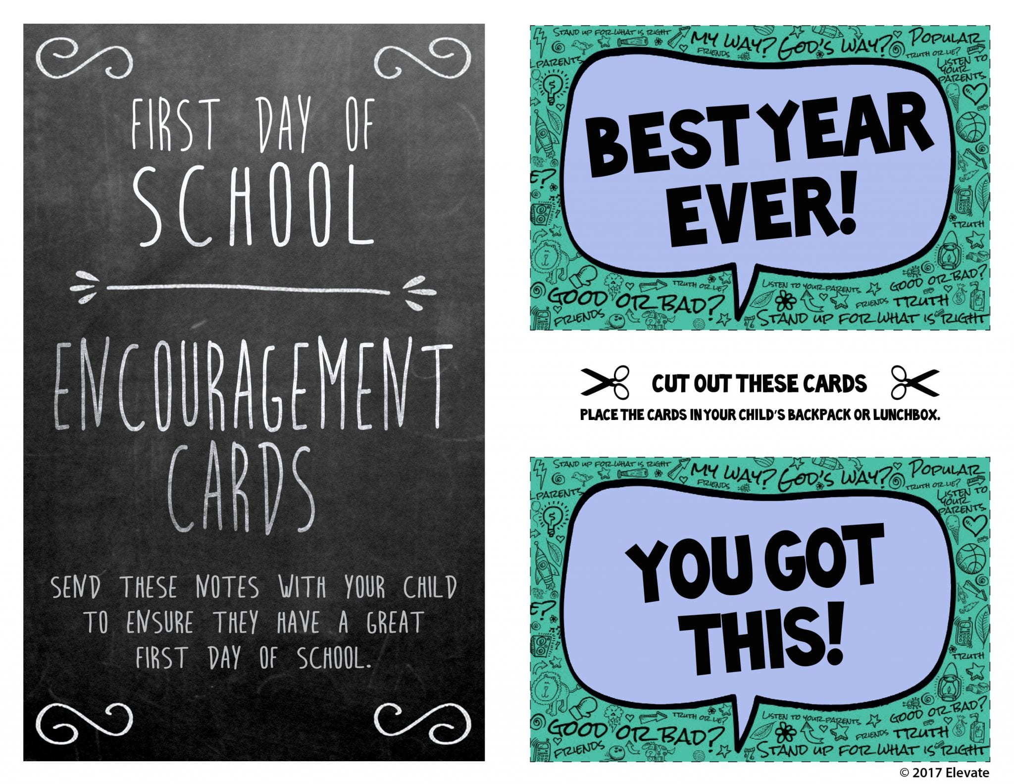 Outstanding Back To School Prayer Cards Elevate Kids Now Funny Birthday Cards Online Fluifree Goldxyz